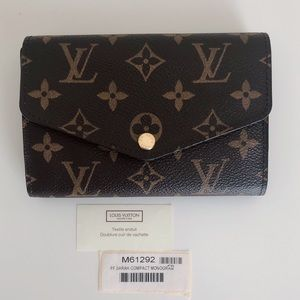 Louis Vuitton Monogram Sarah Compact Wallet